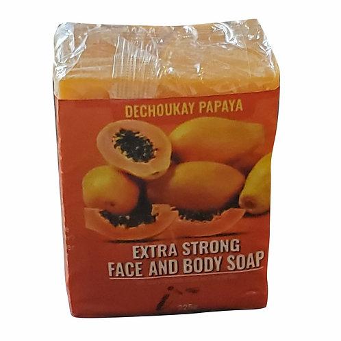 DECHOUKAY EXTRA STRONG PAPAYA SOAP