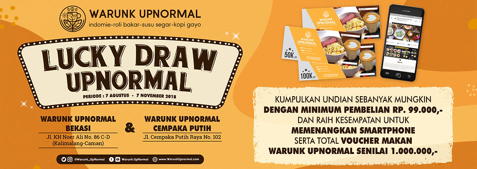 Promo Lucky Draw WU Cemput & Bekasi Onli