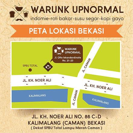 Peta Bekasi