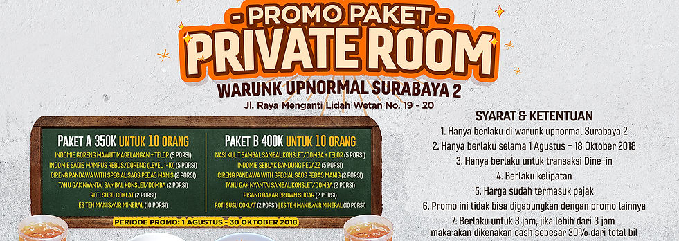 Promo Private Room WU Surabaya 2_Slidesh
