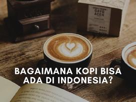 Bagaimana Kopi Bisa Ada di Indonesia?