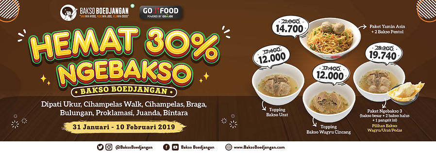 Promo Gofood Reguler-Bakso Boedjangan_We