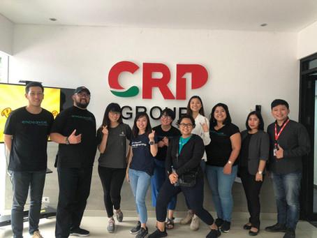 Seru Banget! Endeavor Indonesia Kepoin Kantor CRP Group di Bandung