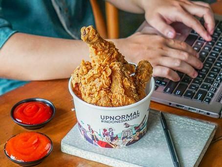 Lebih Besar Lebih Crispy! Ini Dia Menu Crispy Chicken dari Upnormal