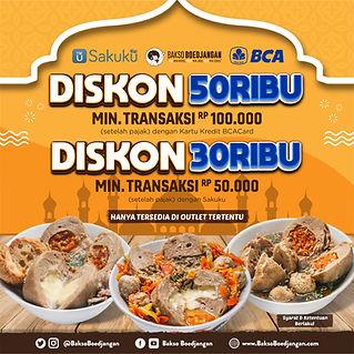 Promo BCA Ramadhan - Bakso Boedjangan -