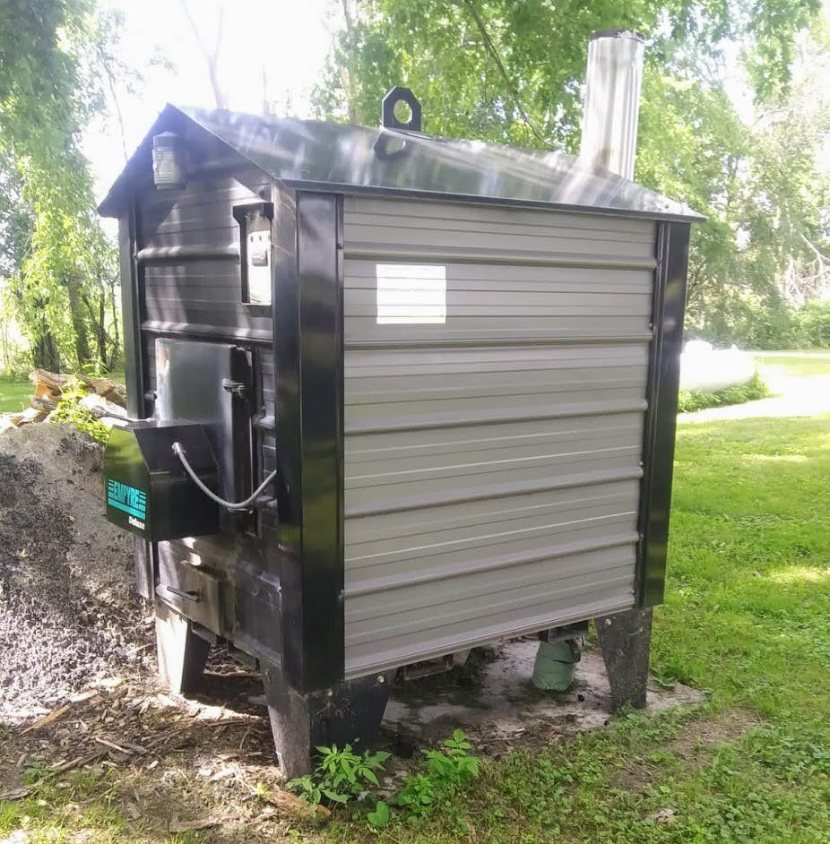 Used Empyre Outdoor Wood Boiler