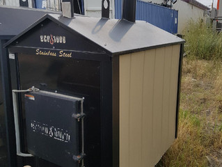 (Sold) Refurbished Eco 3000 Outdoor Wood Boiler For Sale (Sold)