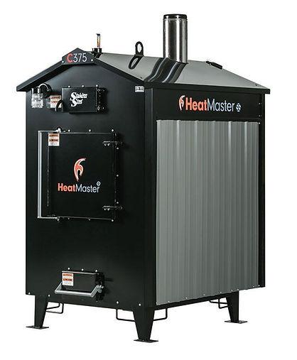 Heatmaster SS C-Series Outdoor Wood Boler