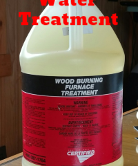 HeatMaster Outdoor Wood Furnace Water Treatment