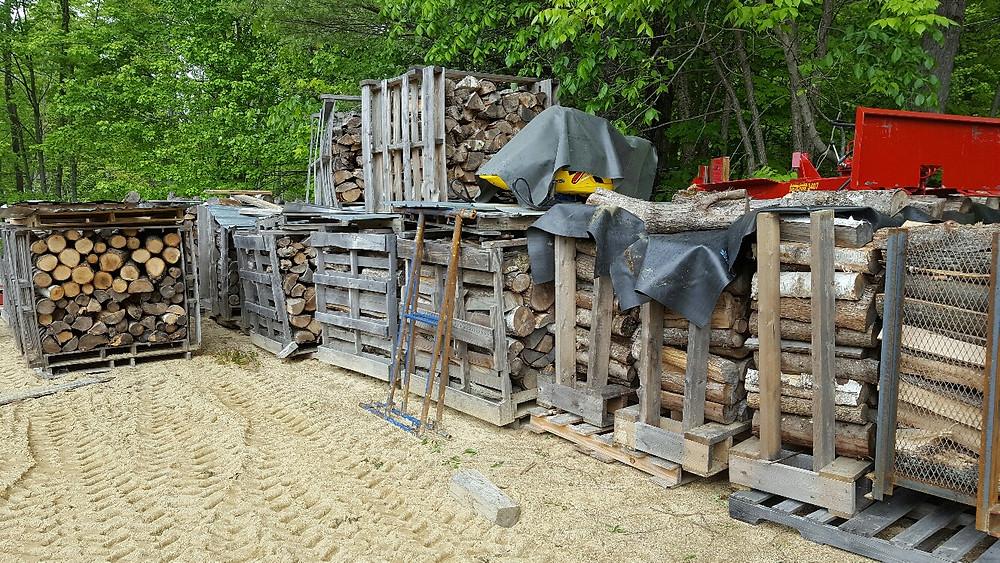 Fire Wood Pallet Crates