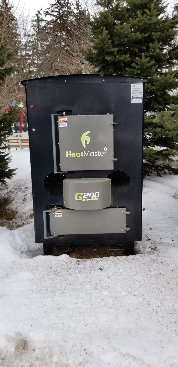 Used HeatMaster Outdoor Wood Boiler