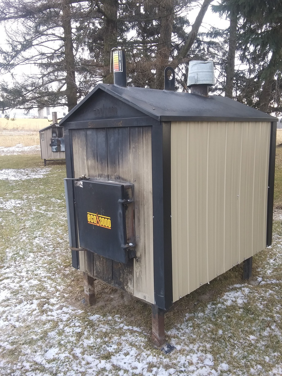 Outdoor Wood Furnace (Used)