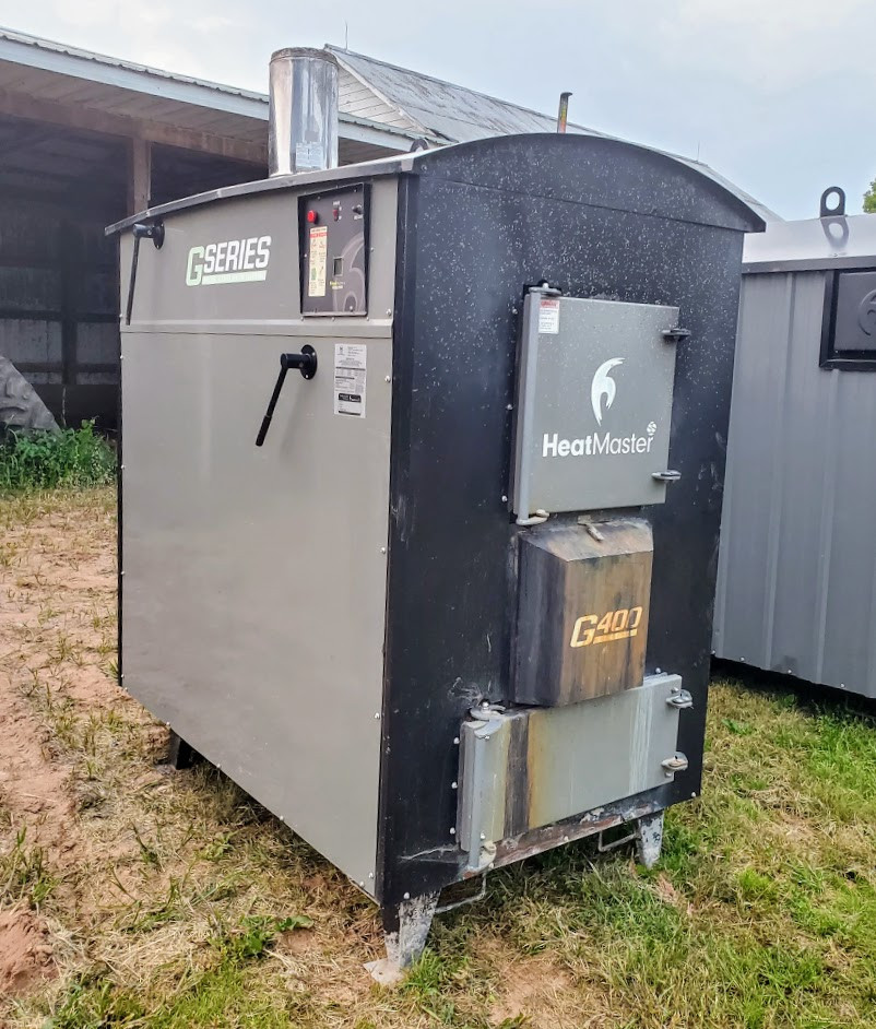 Used HeatMaster G400 Outdoor Wood Boiler