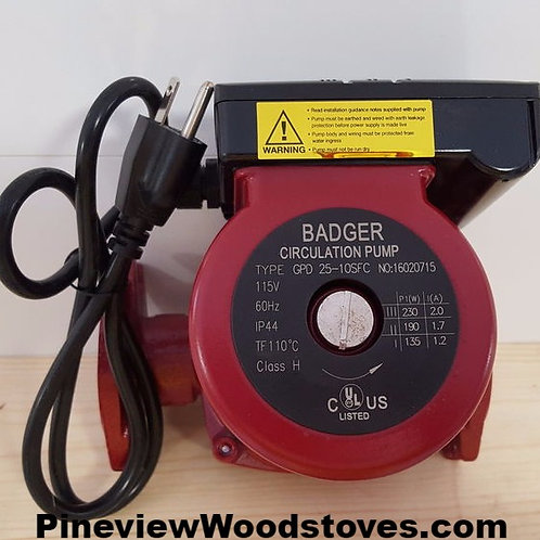 Outdoor Wood Boiler Pump