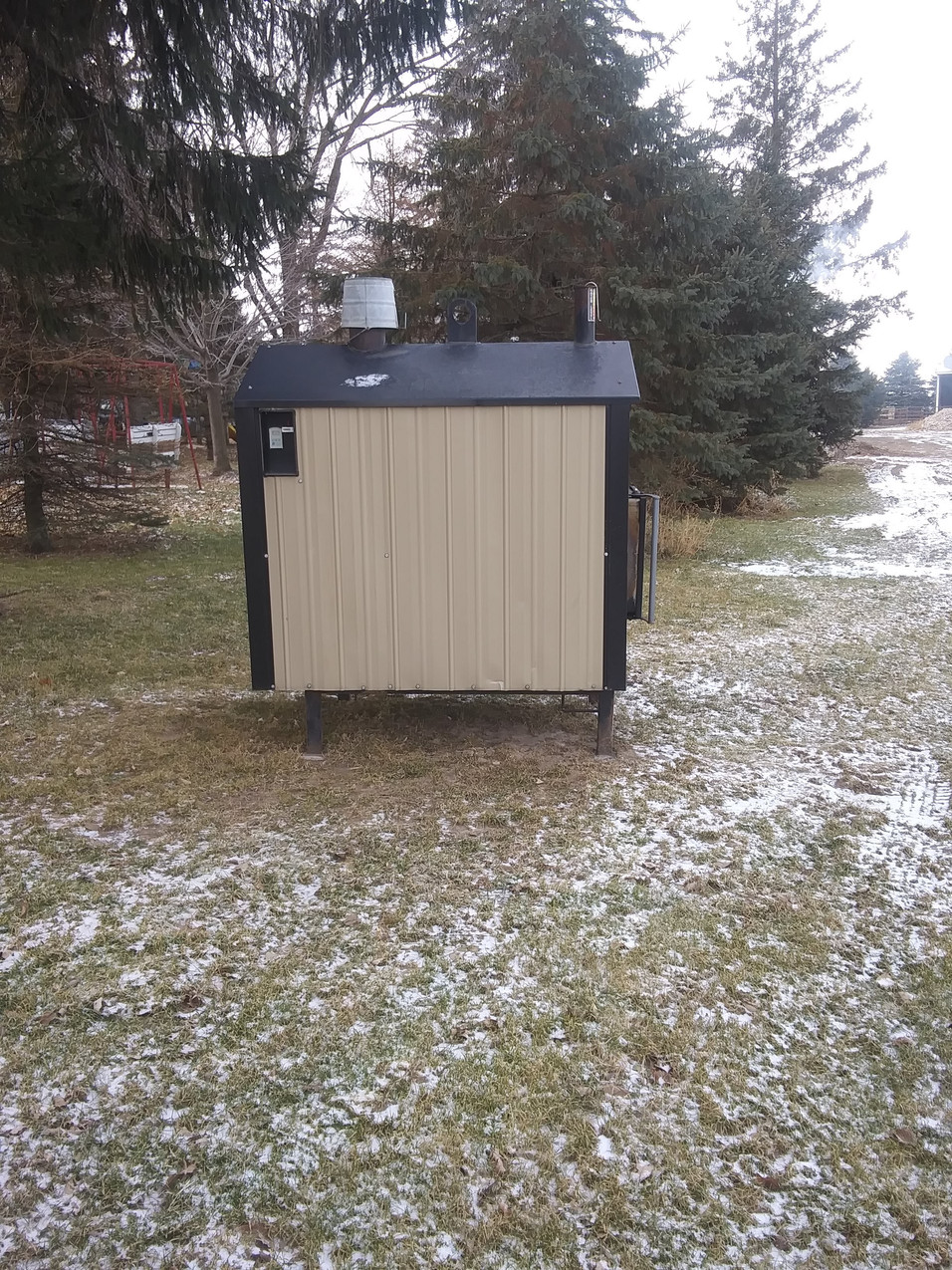 Eco 3000 Used Outdoor Wood Furnace
