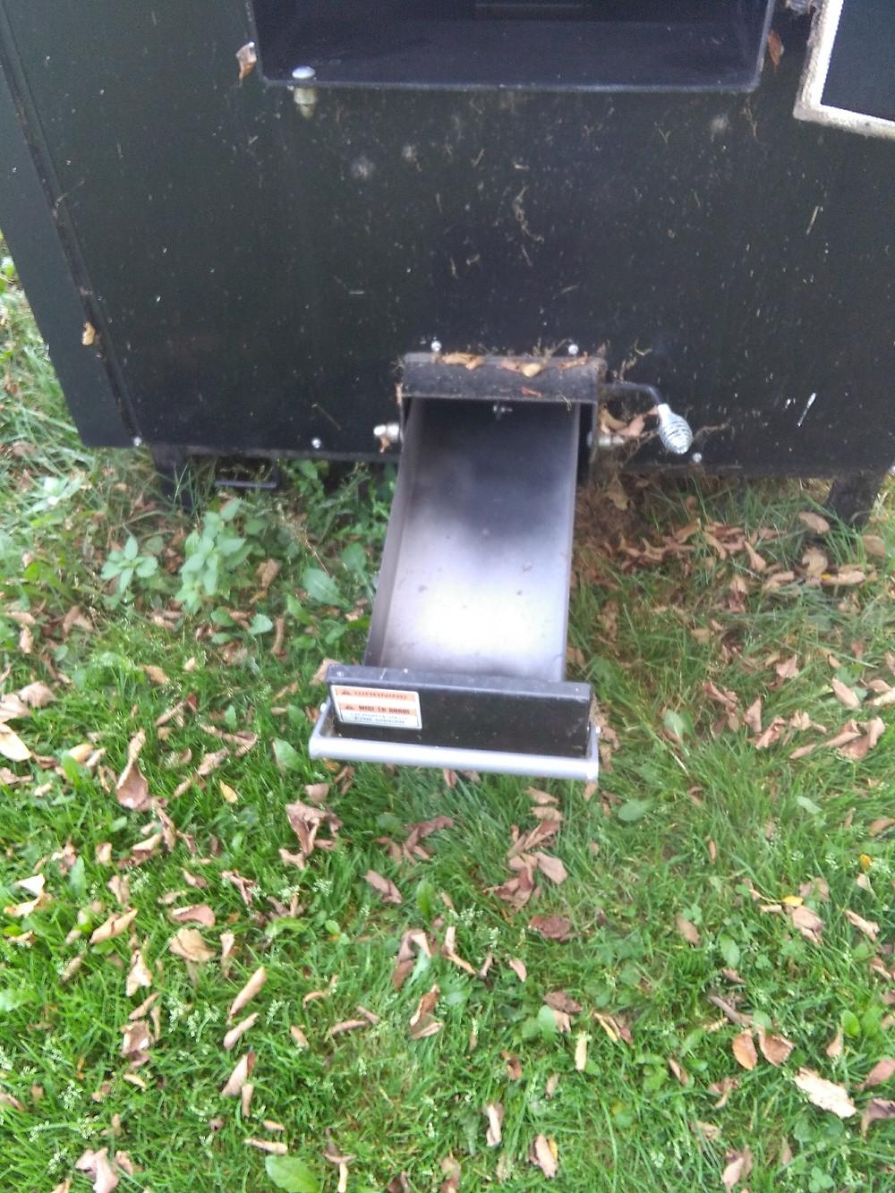 Used HeatMaster SS Ash Pan