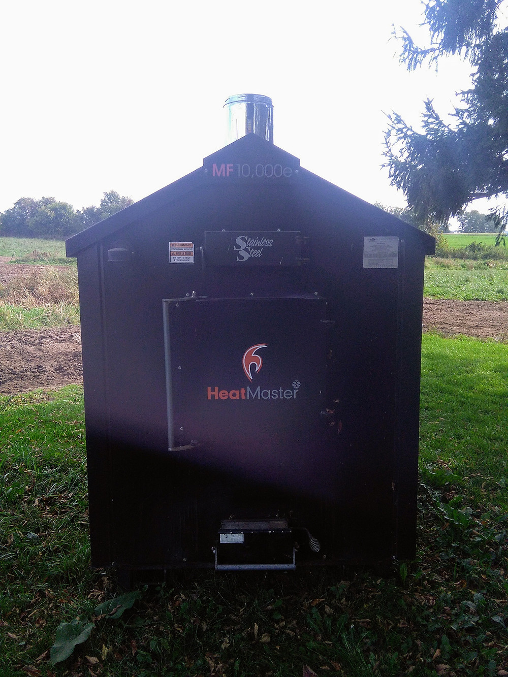 Used Outdoor Wood Boiler
