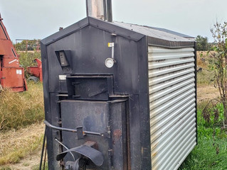 Used Taylor T450 Outdoor Wood Boiler For Sale