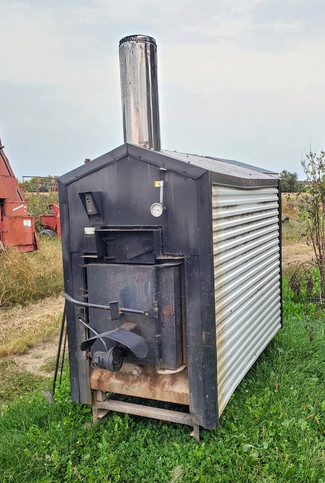 Used Taylor T450 Outdoor Wood Boiler For Sale (Sold)