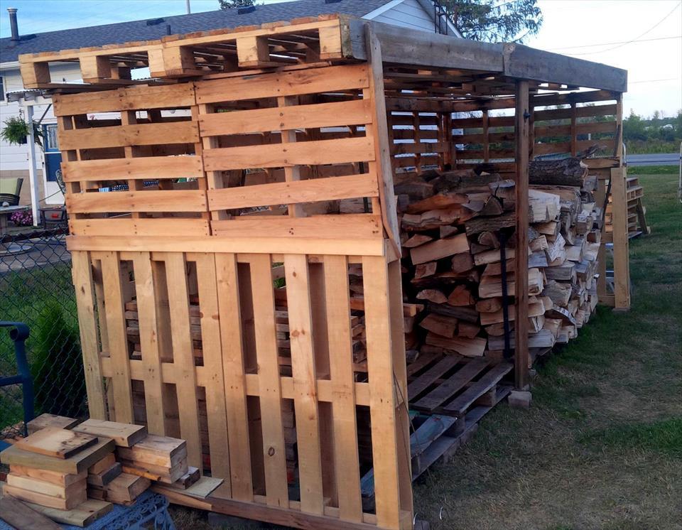 outdoor boiler wood shed