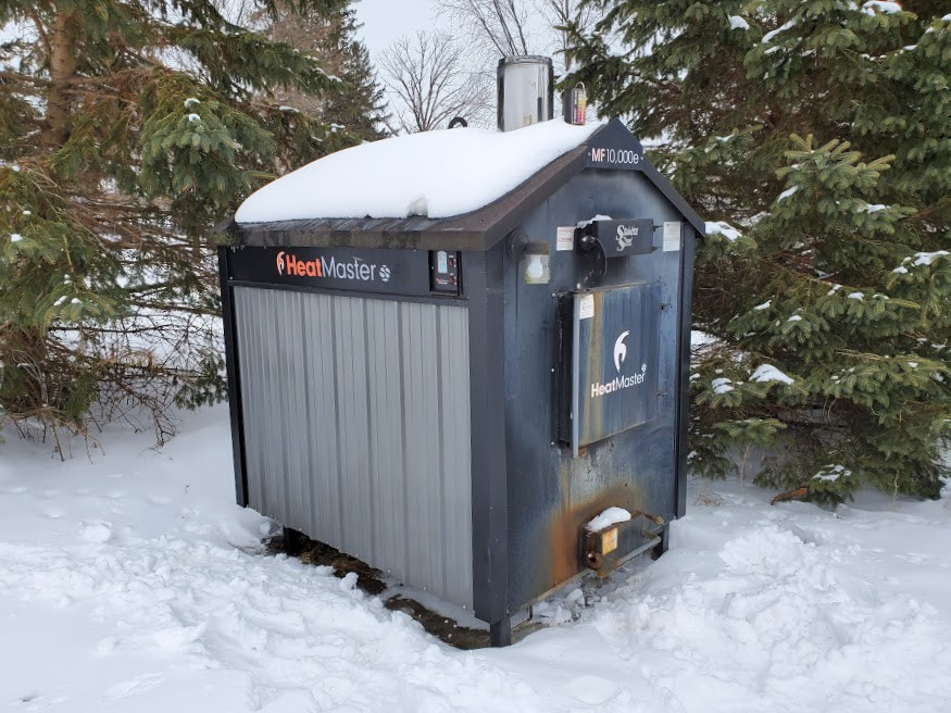 Used Outdoor Wood Boiler For Sale