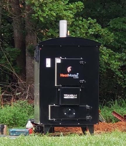 outdoor wood boiler in minnesota
