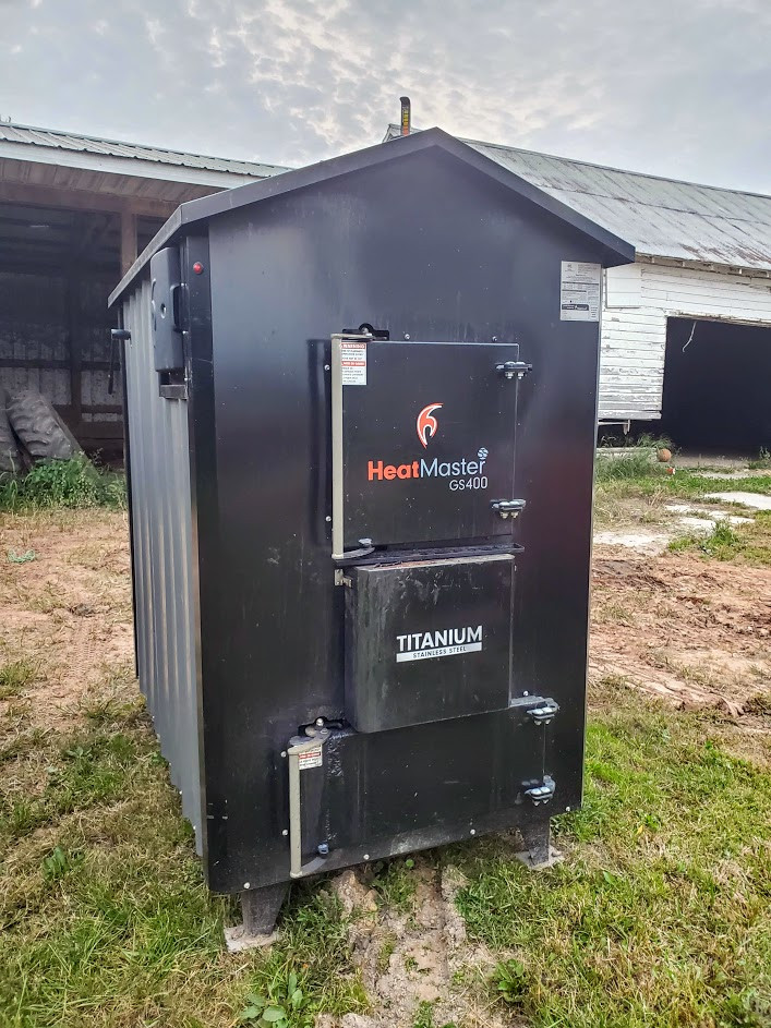 GS400 HeatMaster Used Outdoor Wood Boiler