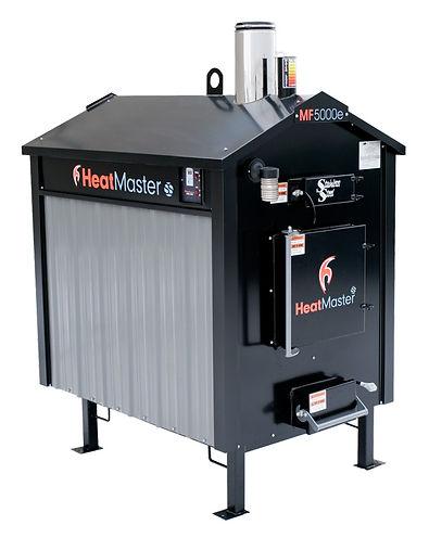 Heatmaster SS MF 5000e Outdoor Wood Furnace