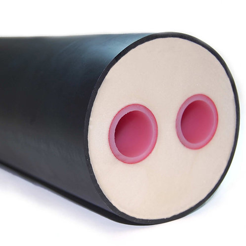 Solid Core Foam Insulated Pipe Rehau
