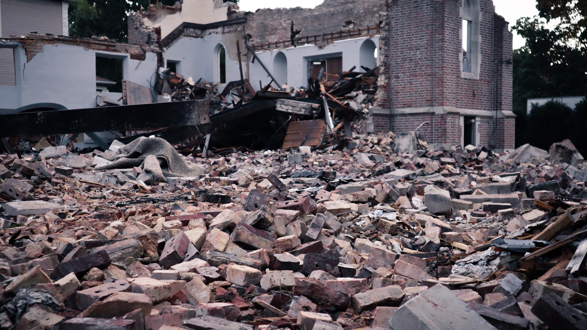 Saint rubble