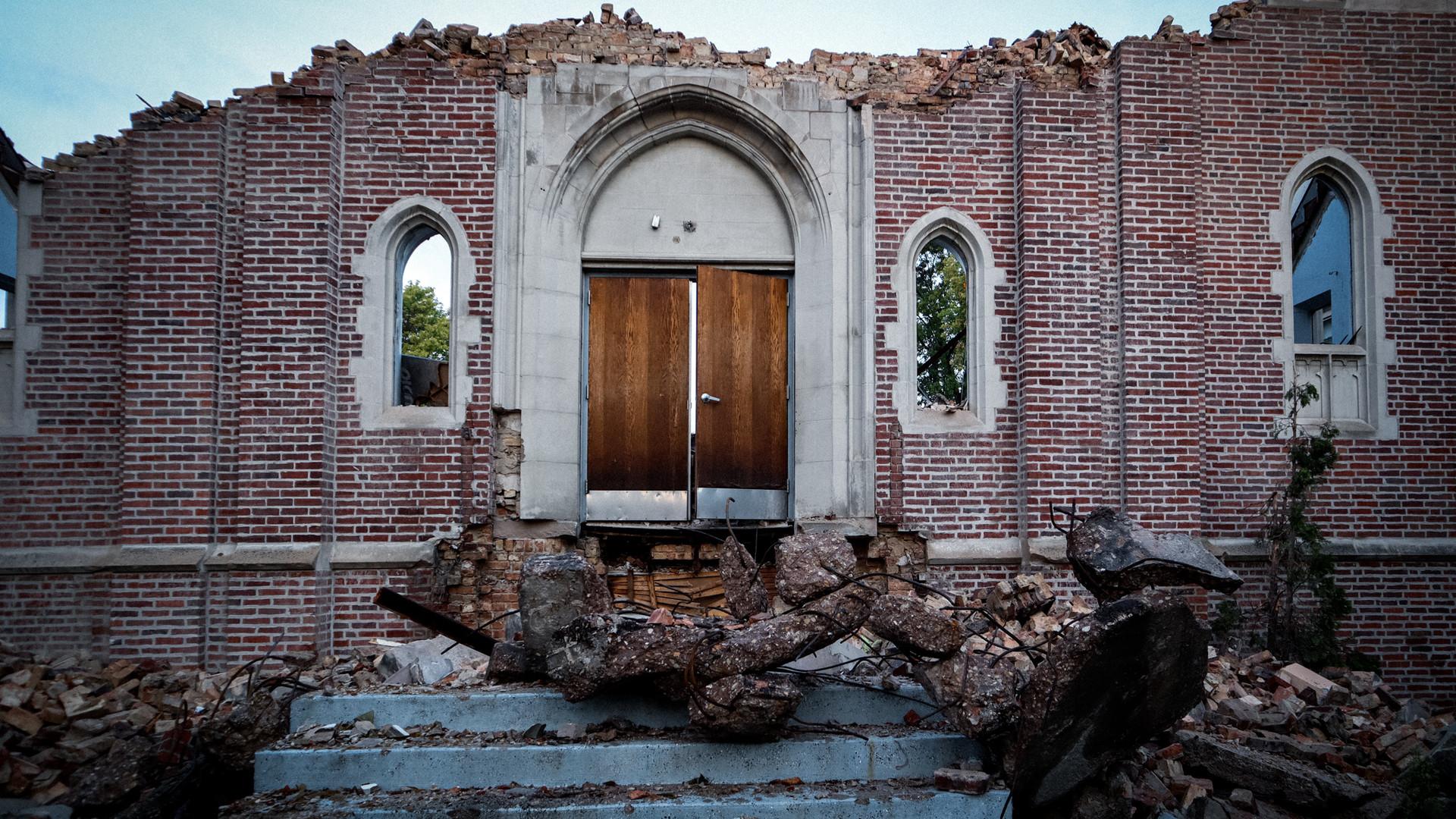 Church Facade Crystal Drake