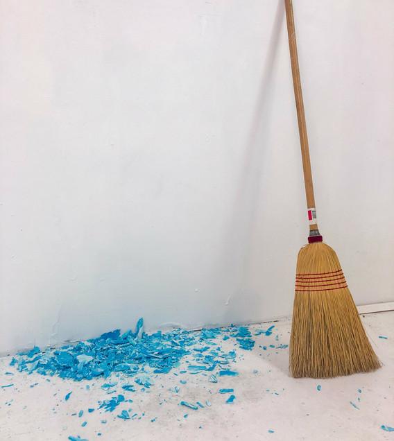 Blue & Broom
