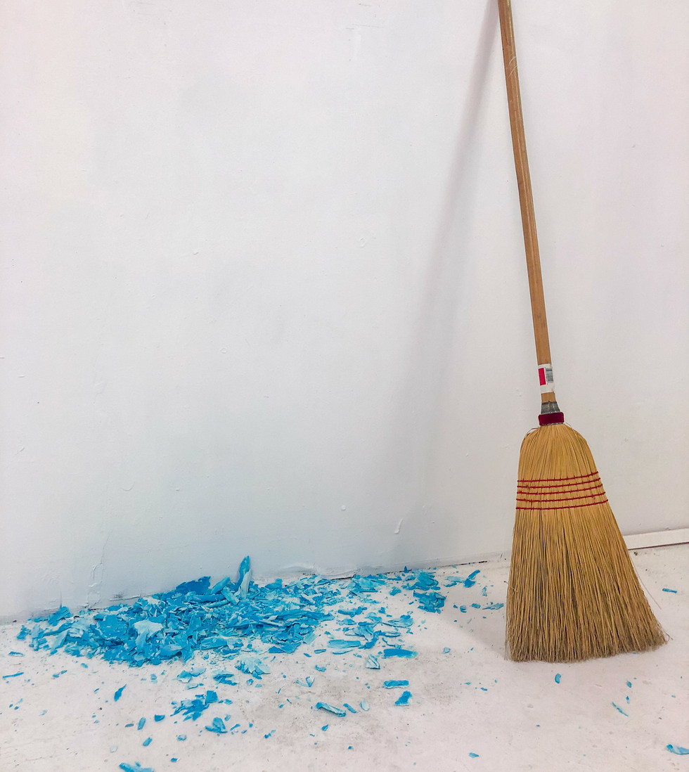 Blue & Broom