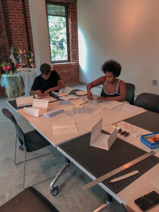 Volunteer Book Binding