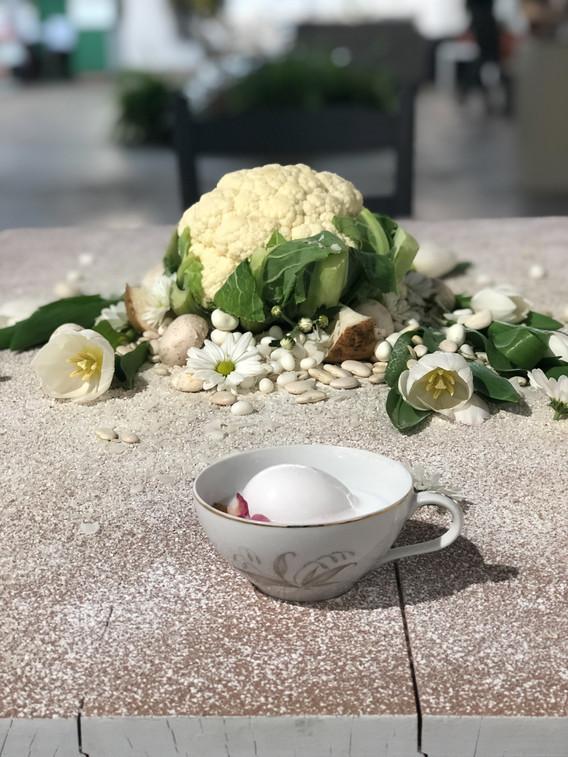 Dinner of White Desire