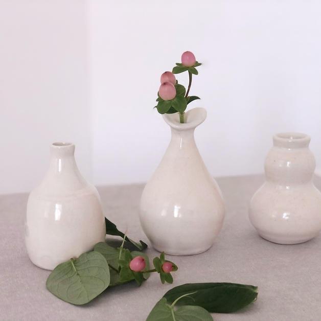 Hypericum bud vase