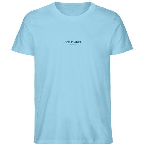 One Planet shirt  - Herren Premium Organic Shirt