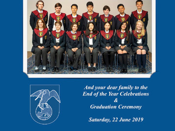 You are Invited to Graduation 2019