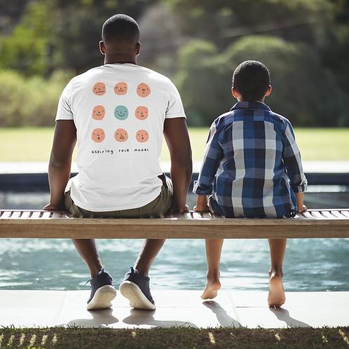 """Aspiring Role Model"" - Men's Premium Organic Shirt"