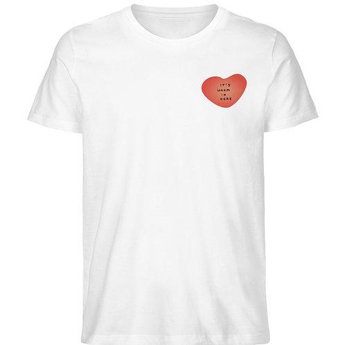 It's Warm in Here T-Shirt  - Herren Premium Organic Shirt