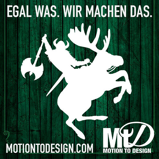 graphic designer in haigerloch germany design viking riding a moose
