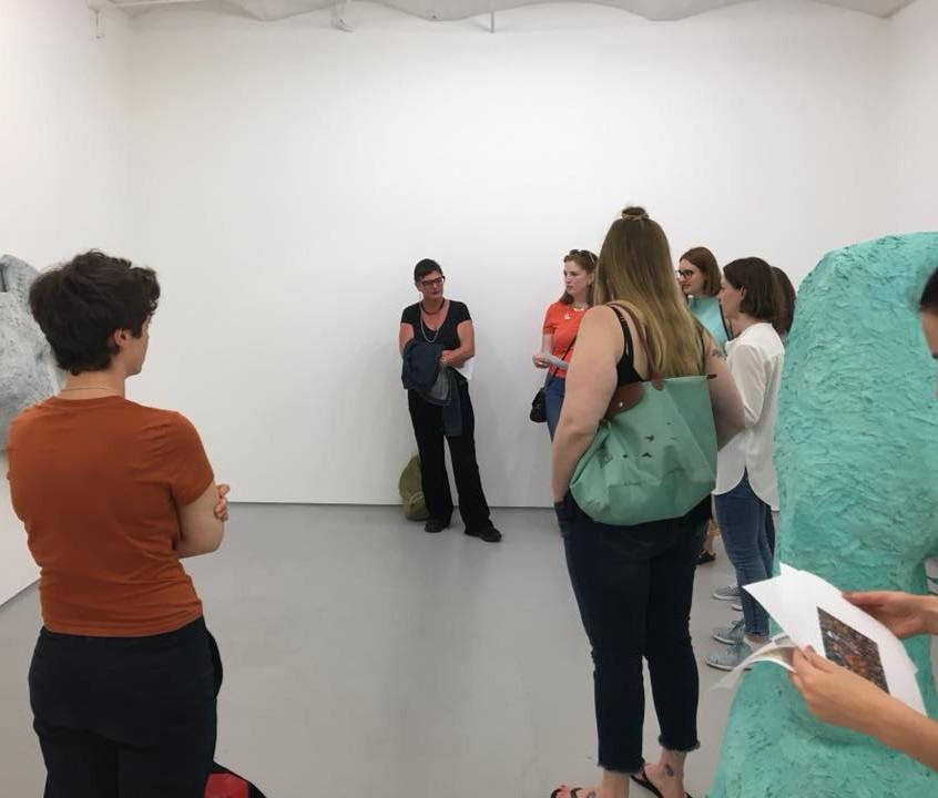Oliva Bax talks us through her art