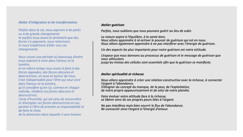 Séminaire Alain Giger été 2021