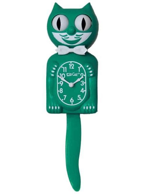 Green Beauty Kit-Cat Clock