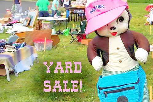 Spring Yard Sale