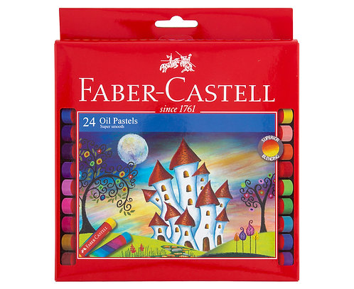 Faber Castell -24 Oil Pastels