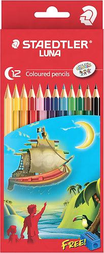 Staedtler Luna Coloured Pencils - 12 pack