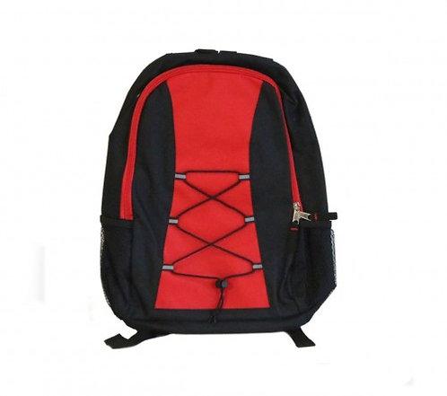 Basic Backpack (Red/Black)