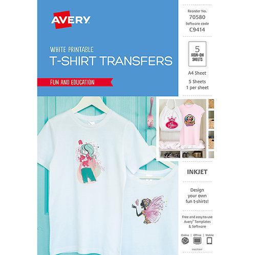 Avery T-Shirt Tranfers - Design your own T-Shirt