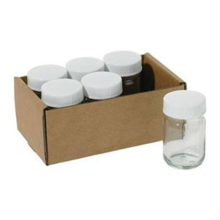 50ml Paint Jar with lid - box of 6